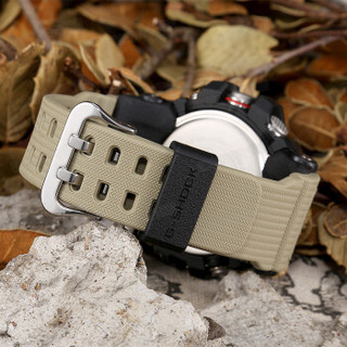CASIO 卡西欧 手表G-SHOCK系列新款双重感应户外运动双显男表  GG-1000GB-1A