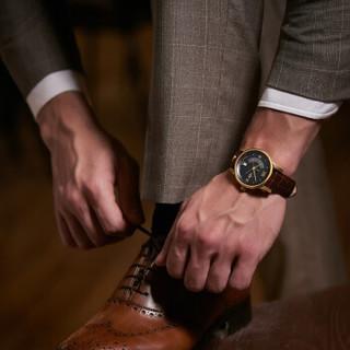 KronSegler 坤格 德国进口手表 迷幻旋舞系列男士手表防水自动机械表 银白银钢带 全景背透 KS747S.W KS747
