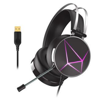 Dareu 达尔优 游戏耳机   7.1声道 (黑色、有线)