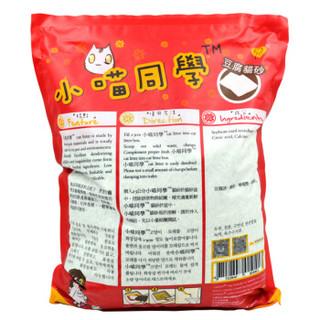 爱宠爱猫 lovecat系列 194680 lovecat系列结团除臭定制细致原味豆腐猫砂6L  红色