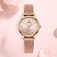天王表(TIAN WANG)手表 女时尚潮流简约女表细带防水石英表精致小米带女士手表LS3998
