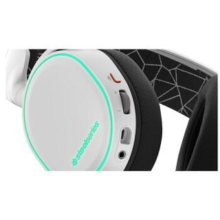 steelseries 赛睿 无线游戏耳机 (白色 、无线、蓝牙)