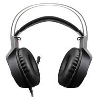 xiberia 西伯利亚 电竞游戏耳机  7.1声道 (银灰色、有线)