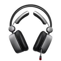 xiberia 西伯利亚 电竞游戏耳机 (铁银灰、有线、USB接口)