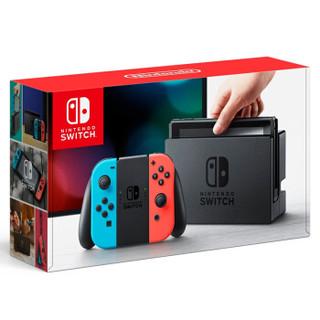 Nintendo 任天堂 1 Switch 游戏机/续航加强版 掌机 (黑色)