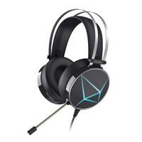Dareu 达尔优 游戏耳机 (黑色、有线、usb+3.5mm)