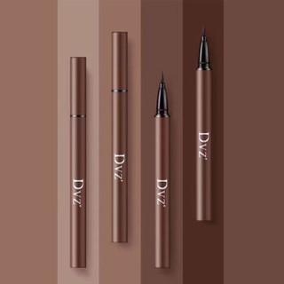 DVZ' 朵色 眼线笔持久防水液态不晕妆不易脱妆黑色棕色眼线液笔 黑色一支