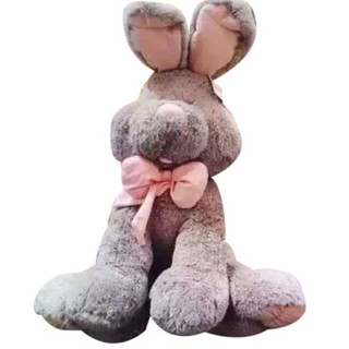邦尼 兔子公仔大耳兔 1.2米灰色