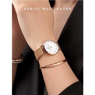DanielWellington 手表女28mm时尚女表 dw表 金属编织表带 米兰风情 DW00100217