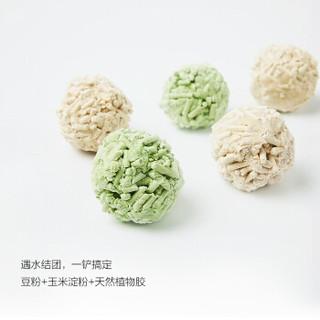 憨憨宠 低尘可冲猫沙6L(绿茶原味水蜜桃三种可选) (4-10L)