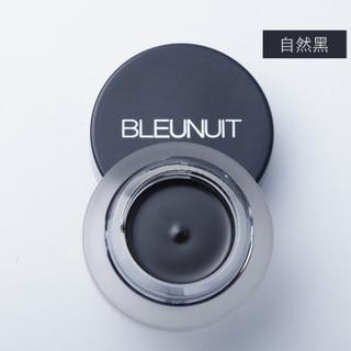 BLEUNUIT 深蓝彩妆 流云眼线膏防水不晕染眼线液眼线胶送原装眼线刷 黑色