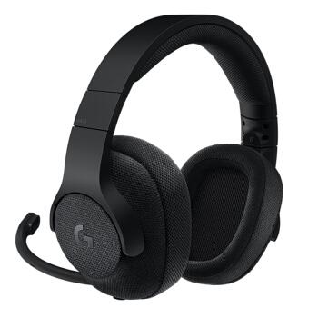 Logitech 罗技 游戏耳机   杜比7.1环绕声 (黑色、有线,无线)
