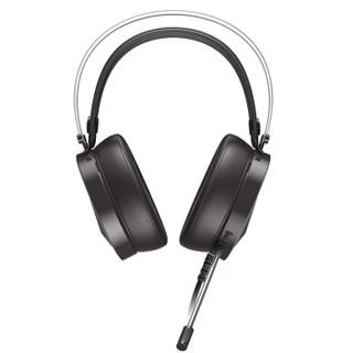 Dareu 达尔优 游戏耳机 (黑色、有线、USB)