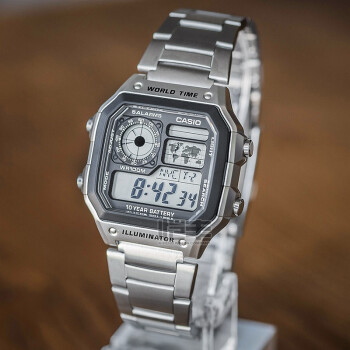 CASIO 卡西欧 AE-1200 男士石英手表