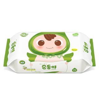 soondoongi 顺顺儿 新生系列 婴儿湿巾 70片*5包+20片*4包