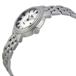 TISSOT 天梭 手表 港湾系列钢带机械女表T097.007.11.113.00