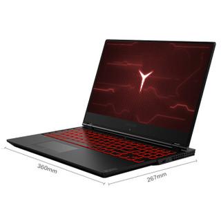 Lenovo 联想 拯救者 15.6英寸游戏笔记本电脑 黑色