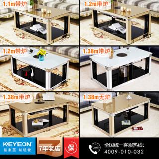 kaiyiou 凯易欧 取暖器 长方形多功能烤火炉1.20米 金色
