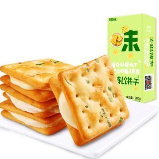 Be&Cheery 百草味 夹心苏打饼干   200g