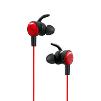 xiberia 西伯利亚 游戏耳机 (黑红色、有线、3.5毫米音频接口)