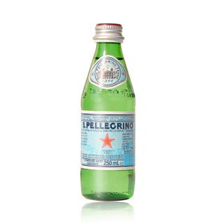 S.PELLEGRINO 圣培露 天然矿泉水 250ml*24瓶