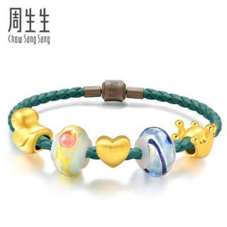 Chow Sang Sang 周生生 黄金足金s「梦幻童话」手链 定价 17厘米 86037B