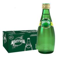 perrier 巴黎水 矿泉水 330ml*24瓶