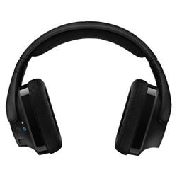logitech 罗技 罗技(G) G433/G533/G933G系列游戏耳机杜比7.1环绕声电竞头戴式LOL吃鸡宏听声辩位 全新盒装G533无线耳机+送木制耳机架