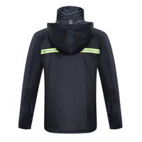 天堂 摩托车雨衣雨套装 分体式 藏青色 L码 n211-7ax
