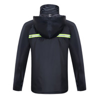 天堂 n211-7ax 摩托车雨衣雨裤套装 分体式 藏青色 2XL码