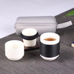 kavar 米良品 旅游茶具套装 一壶二杯