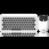 LOFREE 洛斐 EP112S DOT圆点蓝牙机械键盘 白色 +EP115 MAUS薯片蓝牙鼠标 白色 键鼠套装