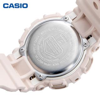 CASIO 卡西欧 G-SHOCK GMA-S120运动女表防水手表 GMA-S120MF-4APR