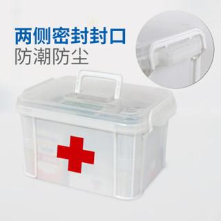 BEKAHOS 百家好世 bjhs1-0578 便携式医药箱 白色 一个装 大号33*24*19cm