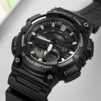 CASIO 卡西欧 运动系列 AEQ-110W-1A 男士石英手表 *2件