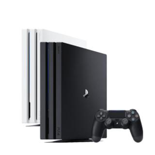 SONY 索尼 1 国行电脑娱乐机体感电视游戏机4K高清支持  VR PS4 PRO (白色)