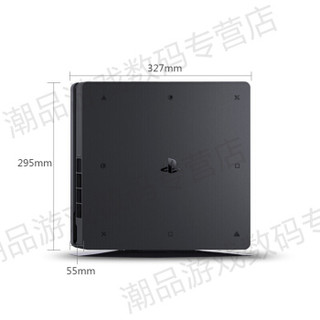 SONY 索尼 1 国行游戏主机 ps4 pro slim psvr 娱乐 (黑色)