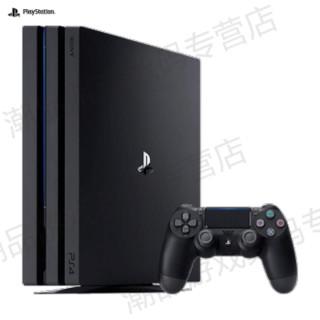 SONY 索尼 pro 1TB 国行游戏主机 ps4 pro slim psvr 娱乐 (黑色)
