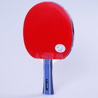 YINHE 银河 乒乓球拍八星专业纯木成品拍8星 【弧圈快攻】横拍/长手柄(赠葫芦形拍套) 银河D-P8