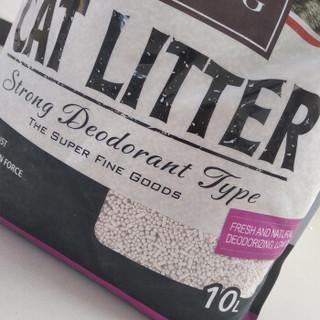 KATZEKING 铠泽金 膨润土结团猫砂条形砂+球砂/无粉尘 黑色 10L约8kg