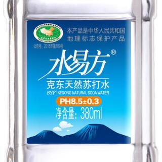 水易方 天然苏打水 380ml*24瓶