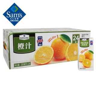 Member's Mark 会员制仓储店 589130 橙汁果汁饮料 纯果汁 (200ml*24)