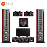 惠威(HiVi)Swans2.8AHT+Sub15B+Q580功放 旗舰家庭影院音响5.1声道 落地式HIFI音箱 全国免费安装