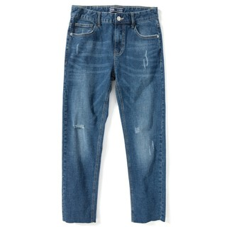 Semir 森马 男士九分牛仔裤