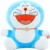 蓝胖子 太阳花哆啦A梦公仔 1米  蓝色 10047911993