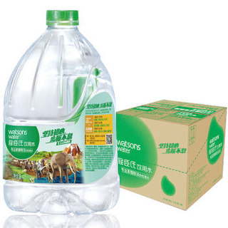 Watsons 屈臣氏 饮用水 4.5L*4桶