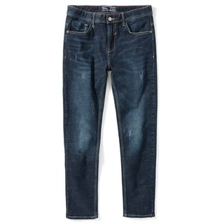 Semir 森马 男士直筒牛仔裤