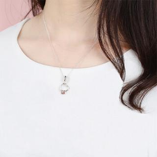 PANDORA 潘多拉 女款 银色项链 爱在心上DIY串珠项链 组套套装   D59047-45