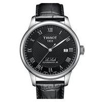 天梭(Tissot)  力洛克系列自动机械钢带手表男 T006.407.11.033.00