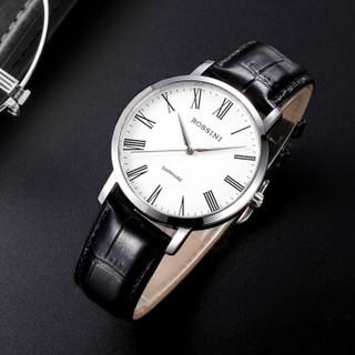 ROSSINI 罗西尼 手表 启迪系列 经典百搭商务石英表 皮带男士腕表519907W01A  519907W01A
